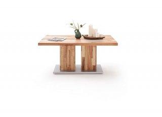 Table basse TROPEA 120 x 50 cm chêne massif huilé
