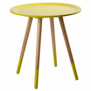ZUIVER Table basse  TWO TONE, jaune.