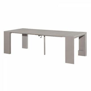 Console design ultra tendance au meilleur prix misty table repas console ext - Console extensible gris ...