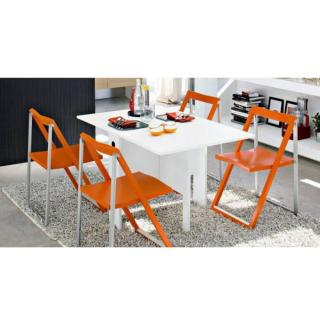 Table console modulable SPIAZO  blanche