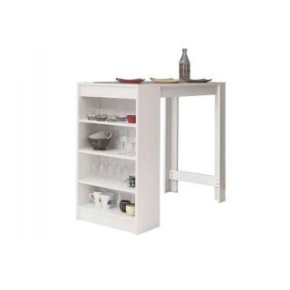 Table de bar DOLAR blanche