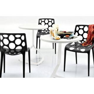 CALLIGARIS Petite table ronde EVOLVE  60x60 blanche