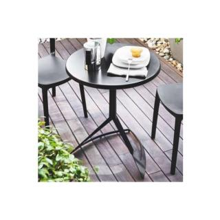 CALLIGARIS Petite table ronde EVOLVE  60x60 noire
