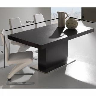 tables design au meilleur prix, table repas design extensible