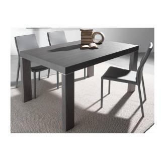 Table repas extensible WIND design wengé 140 cm