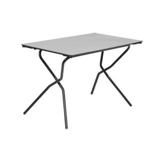 Table pliante ANYTIME 110x68cm couleur stone