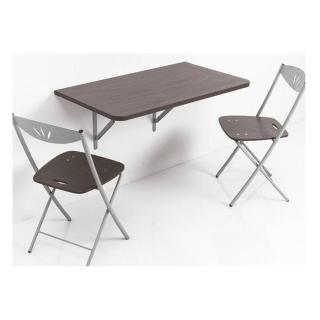 Table pliante SESAMO design wengé
