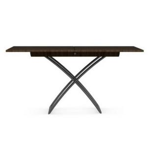 CALLIGARIS Table basse relevable extensible italienne MAGIC J smoke