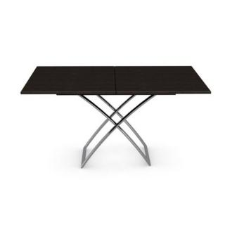 Table basse relevable extensible italienne MAGIC J wengé