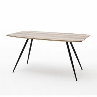 Table de séjour AMEL 160 x 90 cm chêne sauvage