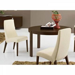 CALLIGARIS Table repas extensible ronde ATELIER  130x130 en bois