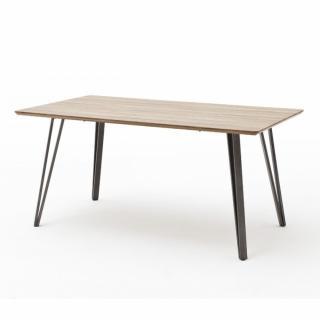 Table de séjour CARMEN 160 x 90 cm chêne sauvage