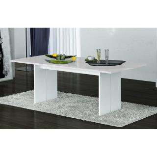 Table repas design BALI blanche