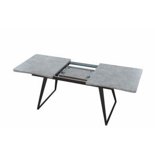 Table repas design extensible KOLDING effet béton