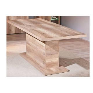 Table repas extensible ABSOLUTO en bois chene brut