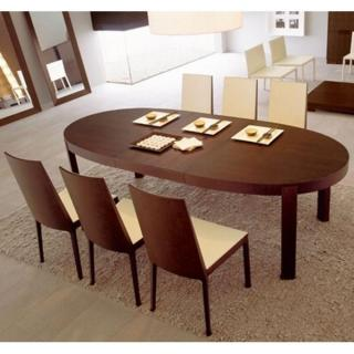 Table de repas design au meilleur prix table repas - Table ovale extensible ...