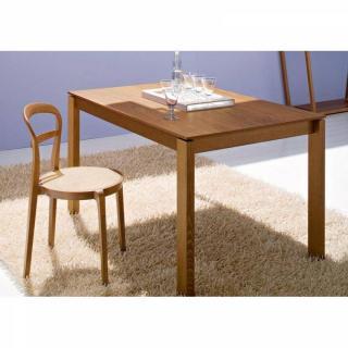 Table repas extensible BARON  130x85 noyer