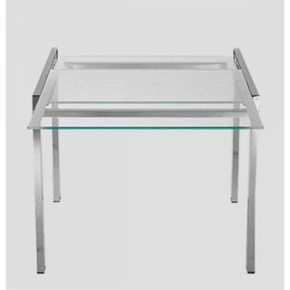 Table de repas design au meilleur prix universe table repas extensible carr - Table transparente extensible ...