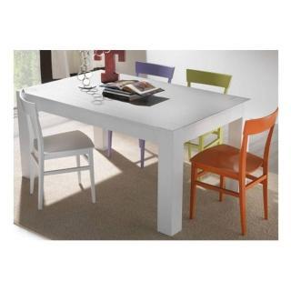 Table repas extensible CONTEMPORANEO blanche
