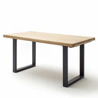 Table extensible DARKE 180 x 100 cm chêne