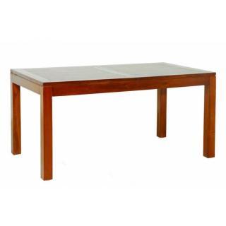 Table repas LAUREN 160/200 x 90 cm en mindi