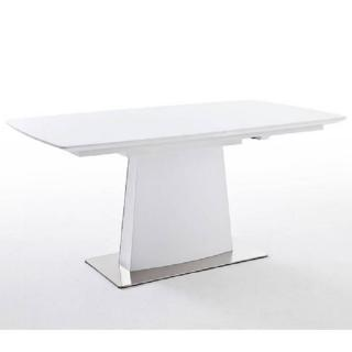 Table repas extensible design HILDA blanche