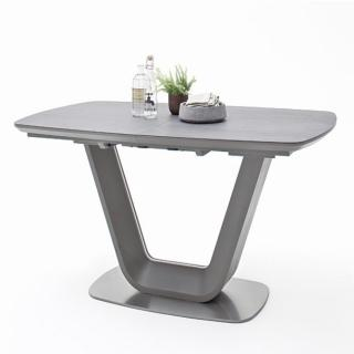Table extensible JACHNA céramique anthracite 160 x 90 cm