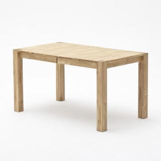 Table repas extensible FIGARI 140/220 x 80 cm coeur de hêtre