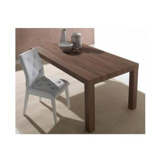 Table repas extensible FUSION noyer americain