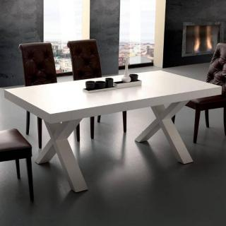 Table repas extensible GALILEO blanche