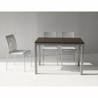 Table repas extensible MAJESTIC 130 x 80 cm wenge