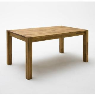 Table repas extensible PASSY 160/250 x 100 cm chêne sauvage.