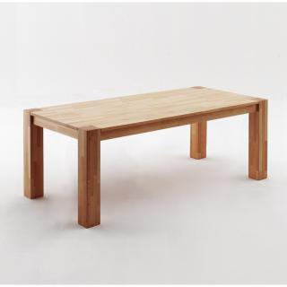 Table repas extensible PASSY 200/300 x 100 cm coeur de hêtre