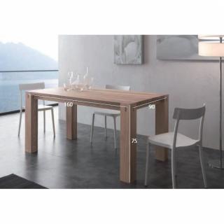 Table de repas design au meilleur prix table repas extensible factory en boi - Table repas bois massif ...
