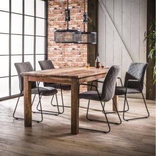 Table repas LODGE 180x90cm bois recyclé