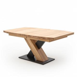 Table repas extensible MEUDON 180/270 x 90 cm chêne blanchi massif