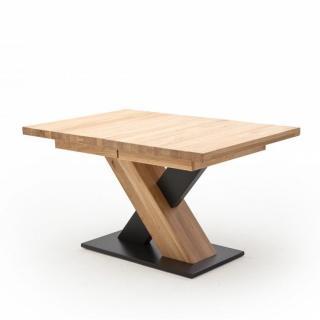 Table repas extensible MEUDON 140/220 x 90 cm chêne blanchi massif