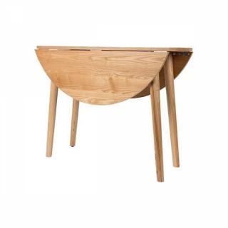 Table repas design SVENDBORG 100 x 100 cm en frêne