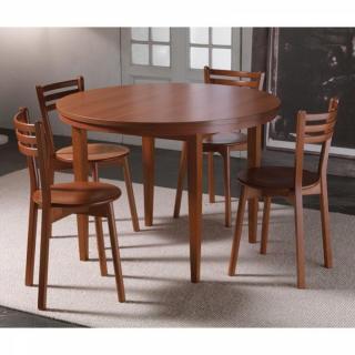 Table repas extensible EKO ROUND merisier