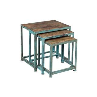Lot de 3 tables gigognes RECOVER