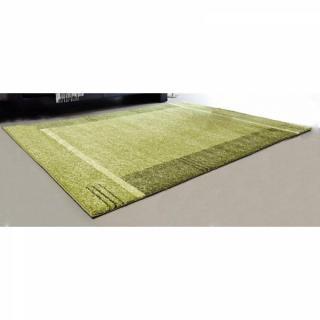 SAMOA DESIGN Tapis patchwork vert - 200x290 cm