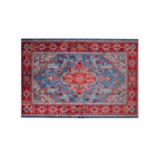 DUTCHBONE Tapis ICON rouge