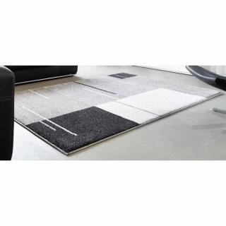 SAMOA DESIGN Tapis patchwork gris 200x290 cm