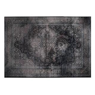 DUTCHBONE Tapis style persan RUGGED noir  170 x 240 cm