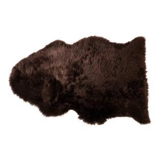Tapis en peau de mouton SHEEPSKIN SHAUN marron