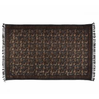 DUTCHBONE Tapis INDIAN BLOCK  gris