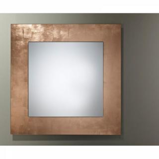 TELLEM  Miroir mural design en verre petit modèle couleur or
