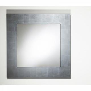TELLEM  Miroir mural design en verre petit modèle couleur argent