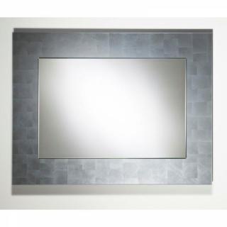 TELLEM  Miroir mural design en verre moyen modèle couleur argent