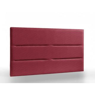 Tête de lit haut de gamme APOLLINE145 cm tweed rouge